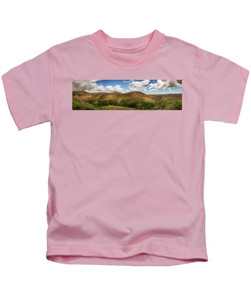 Rainbow Mountain Kids T-Shirt