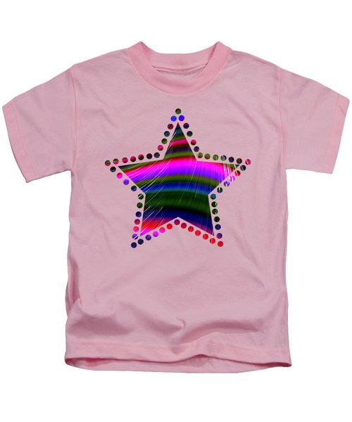 Rainbow Waves Kids T-Shirt