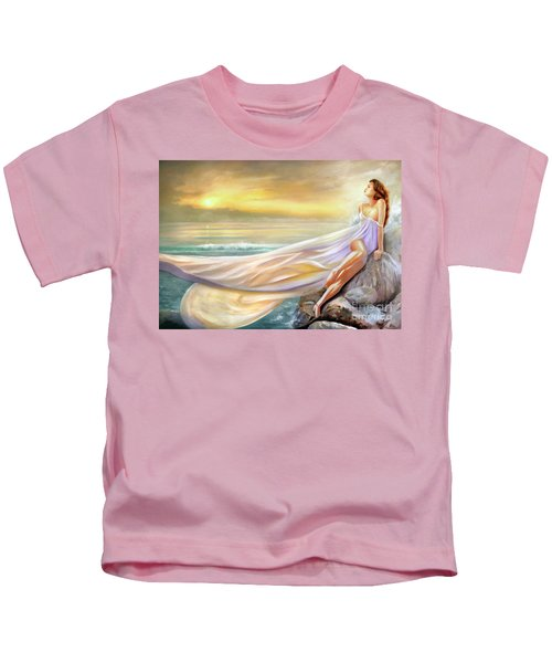 Rapture In Midst Of The Sea Kids T-Shirt