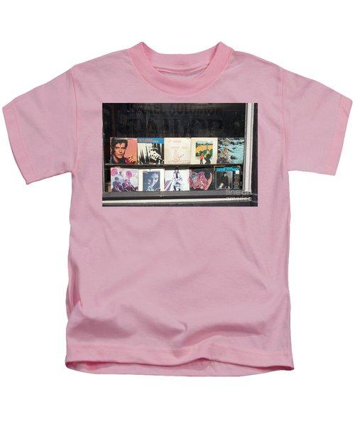 Record Store Burlington Vermont Kids T-Shirt