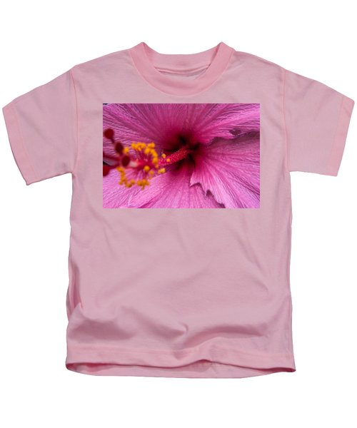 Red Bloom - Pla302 Kids T-Shirt