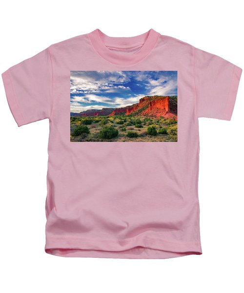 Red Cliffs Of Caprock Canyon 2 Kids T-Shirt