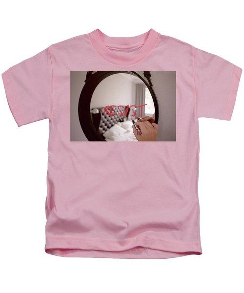 Resistance Lipstick Kids T-Shirt