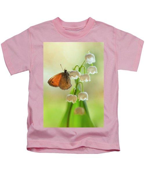 Rest In The Morning Sun Kids T-Shirt