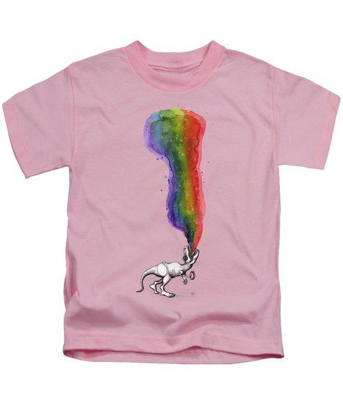 Rex Kids T-Shirt by Kelly Jade King