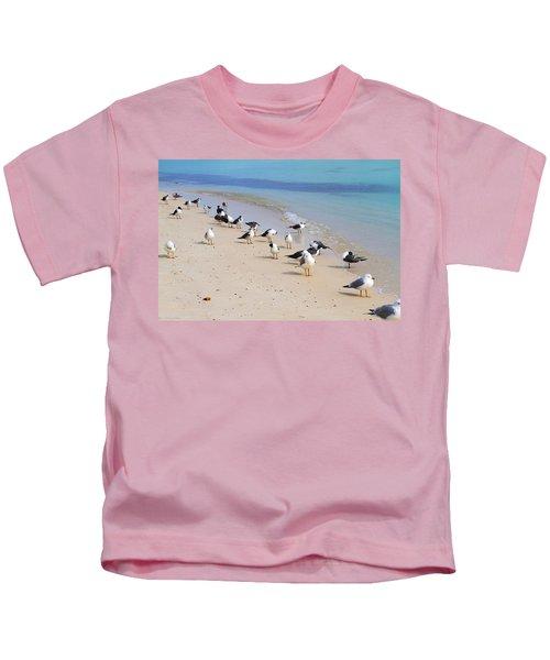 Rhapsody In Seabird Kids T-Shirt