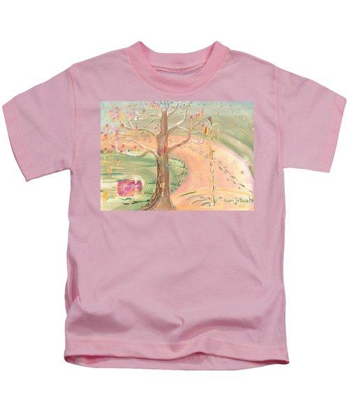 Ripples Of Spring Kids T-Shirt