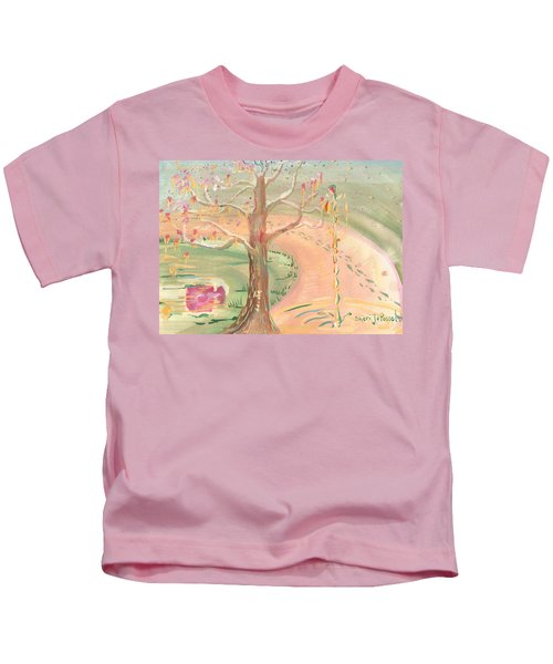 Ripples Of Spring Kids T-Shirt