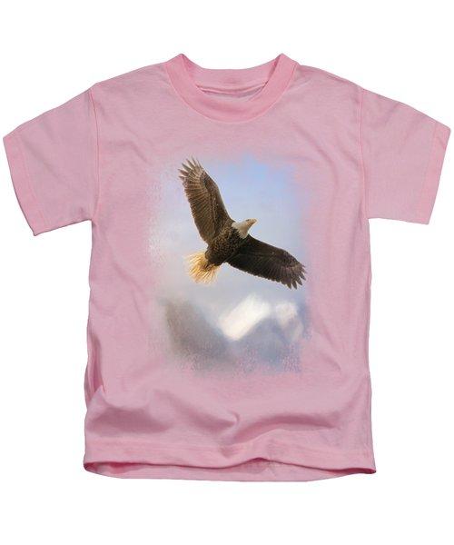 Rise Above Kids T-Shirt by Jai Johnson