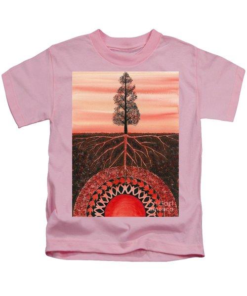 Root Chakra Kids T-Shirt
