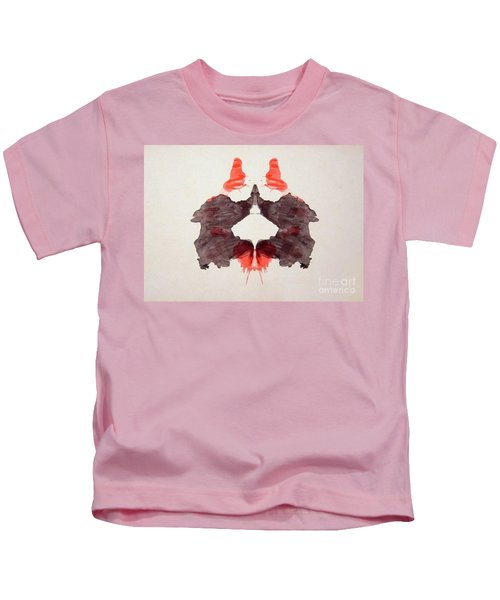 Rorschach Test Card No. 2 Kids T-Shirt