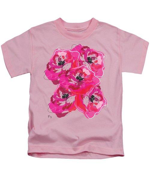 Rose Abundance Kids T-Shirt