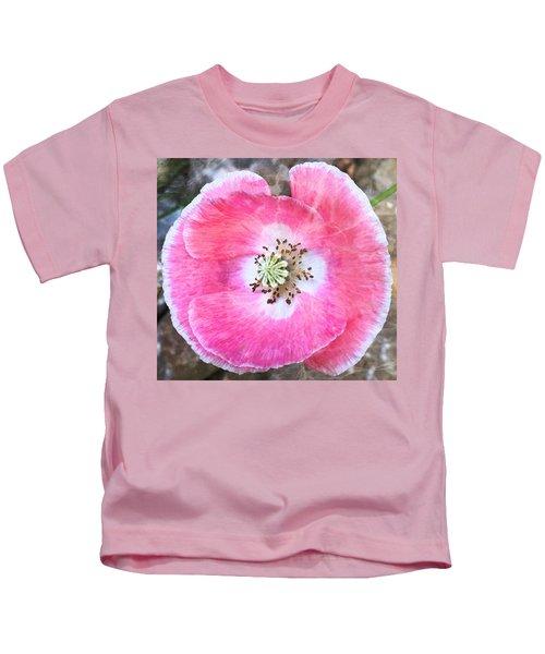 Rose Marble Kids T-Shirt