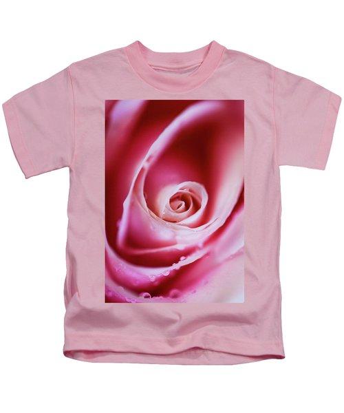 Rose Pink Kids T-Shirt