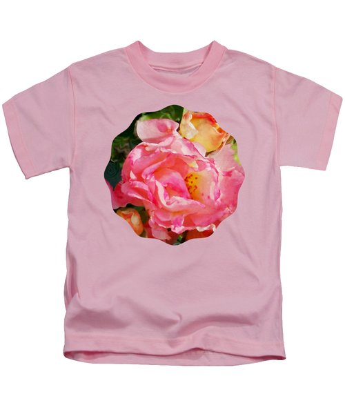 Roses Kids T-Shirt by Anita Faye