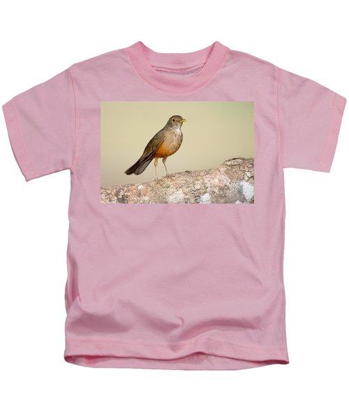 Rufous-bellied Thrush Turdus Kids T-Shirt