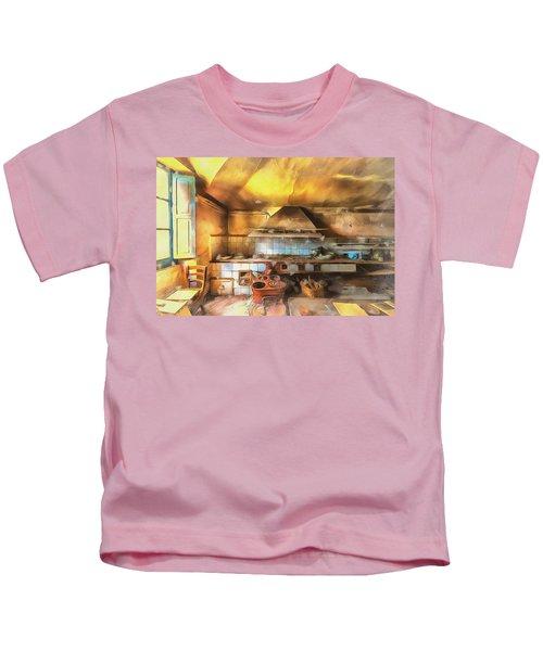 Rural Culinary Atmosphere Nr 2 - Atmosfera Culinaria Rurale IIi Paint Kids T-Shirt