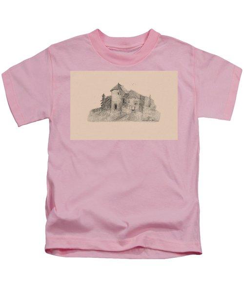 Rural English Dwelling Kids T-Shirt