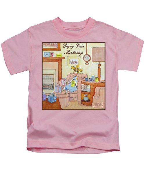 Ruthiemoo Enjoy Birthday Kids T-Shirt