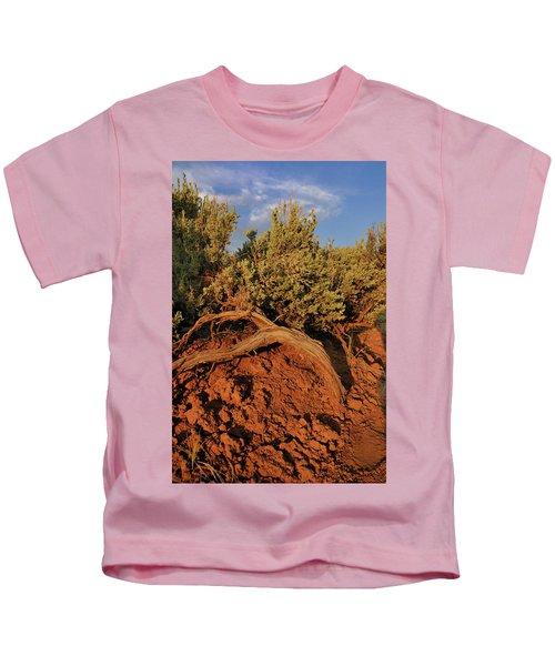 Sagebrush At Sunset Kids T-Shirt