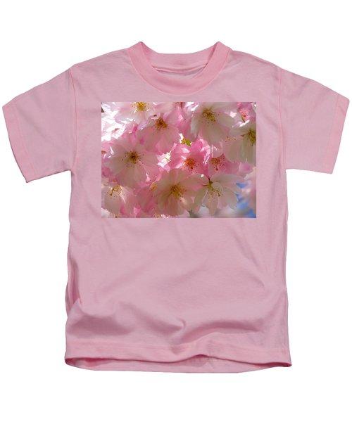 Sakura - Japanese Cherry Blossom Kids T-Shirt