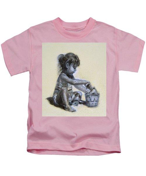 Sand Castles Kids T-Shirt