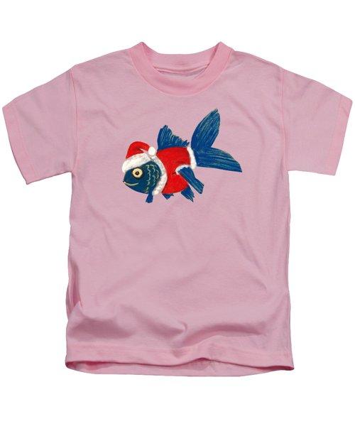 Santa Fish Kids T-Shirt