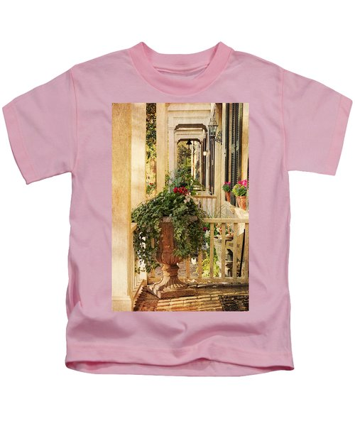 Savannah Porch Kids T-Shirt