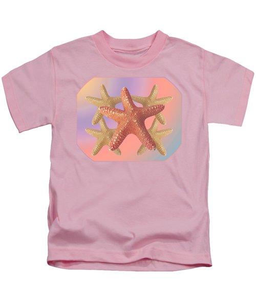 Sea Star Pastels Kids T-Shirt