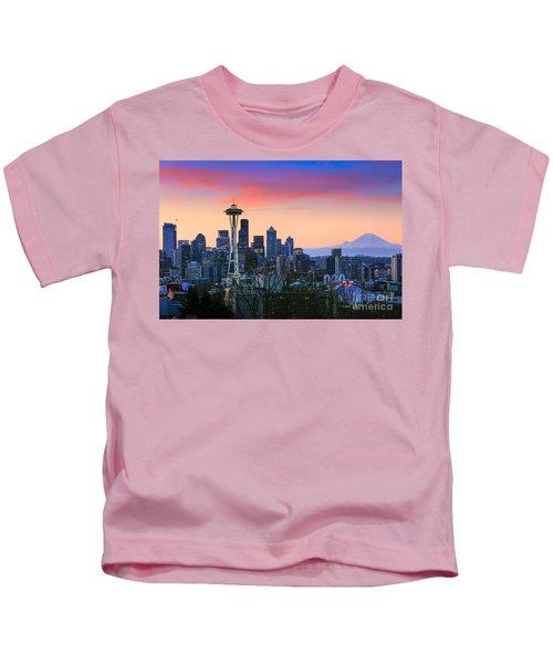 Seattle Waking Up Kids T-Shirt