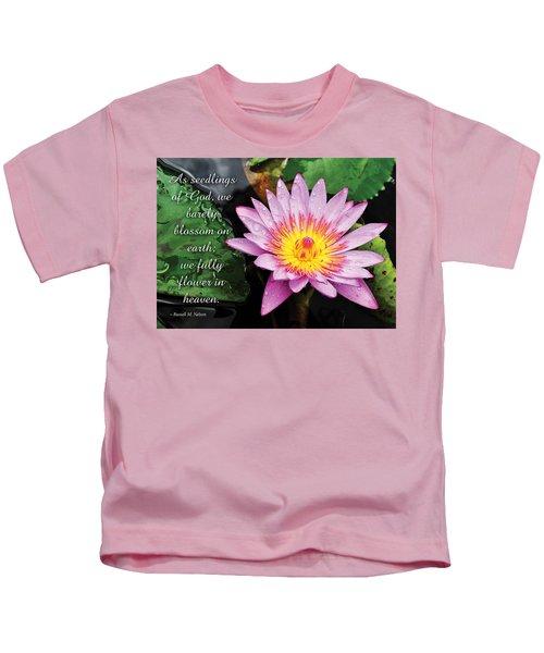 Seedlings Of God Kids T-Shirt