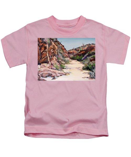 Settler Trail Anza-borrego Desert Kids T-Shirt