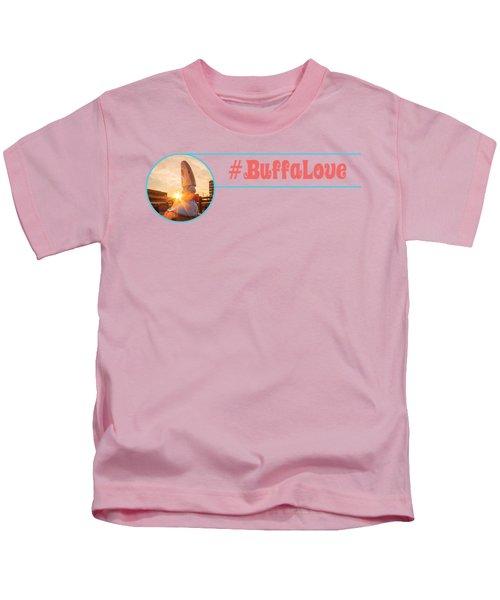 Shark Girl Dawn Kids T-Shirt