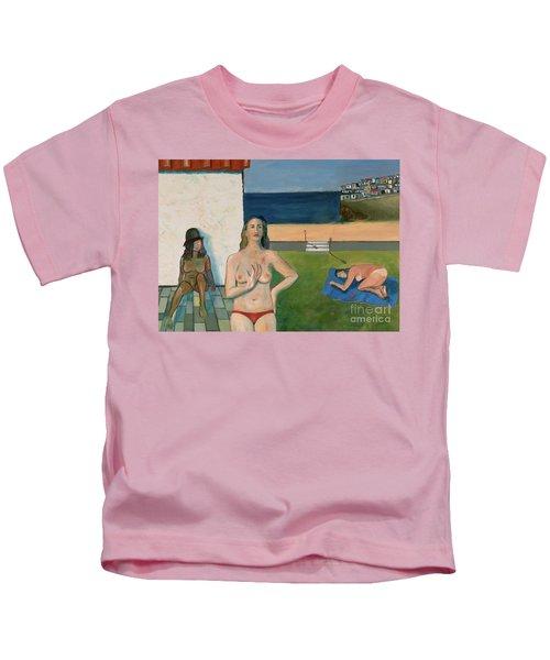 She Walks In Beauty Kids T-Shirt