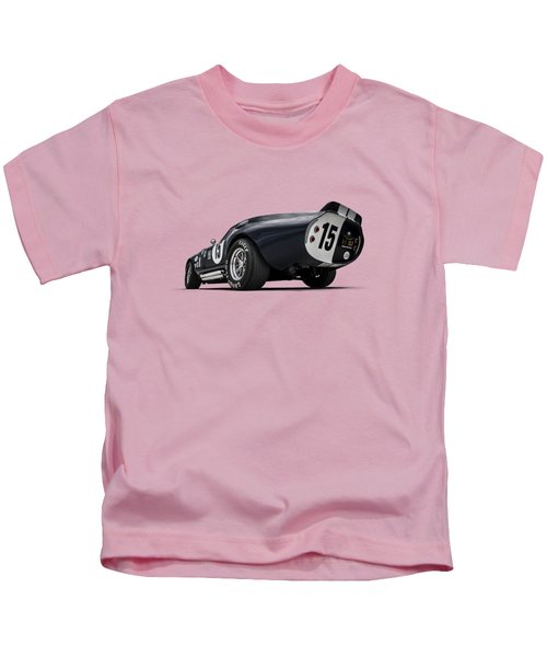 Shelby Daytona Kids T-Shirt by Douglas Pittman