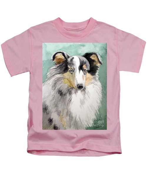 Shetland Sheep Dog Kids T-Shirt
