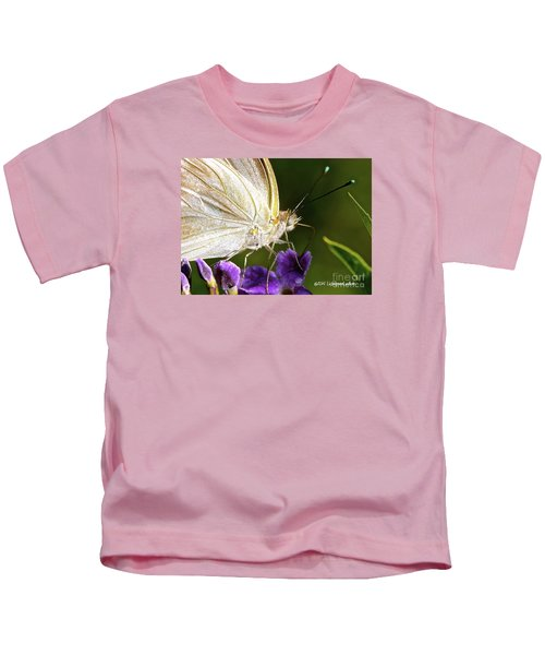 Sipping Purple Kids T-Shirt