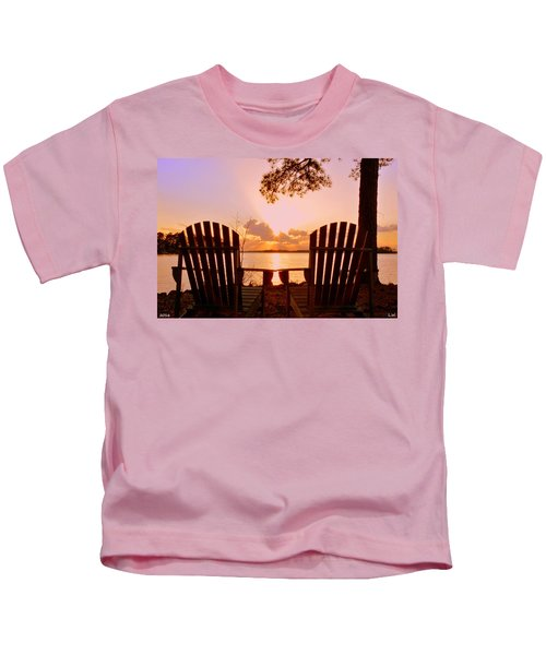 Sit Down And Relax Kids T-Shirt