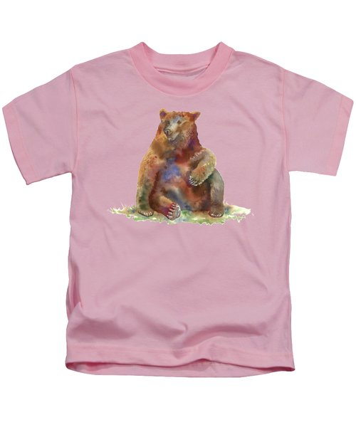 Sitting Bear Kids T-Shirt