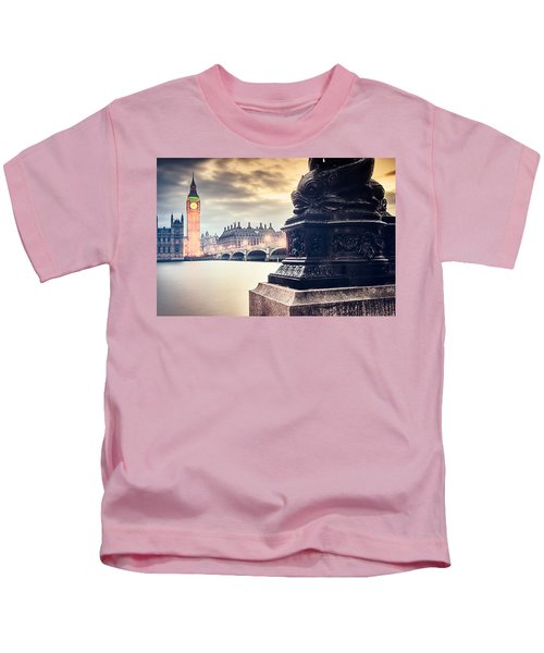 Skies Over London Kids T-Shirt