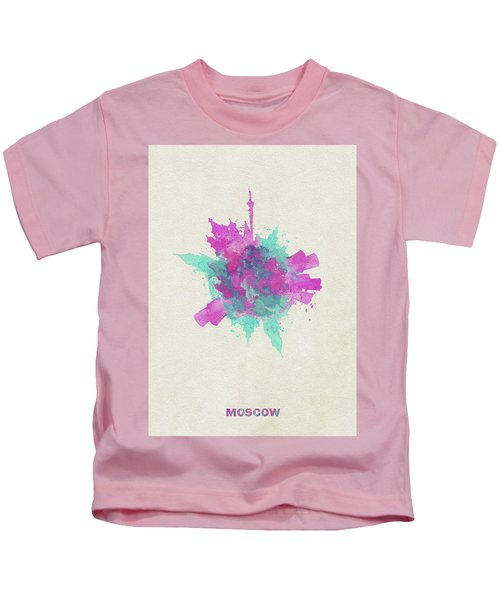 Skyround Art Of Moscow, Russia Kids T-Shirt