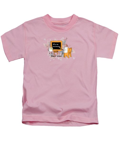 Smore School Illustrated Kids T-Shirt