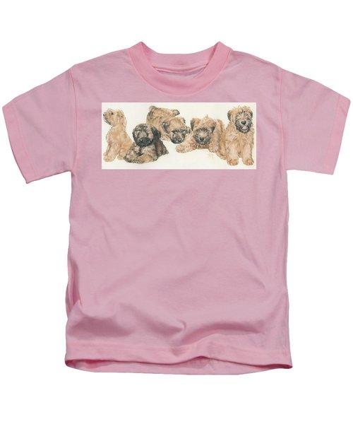 Soft-coated Wheaten Terrier Puppies Kids T-Shirt