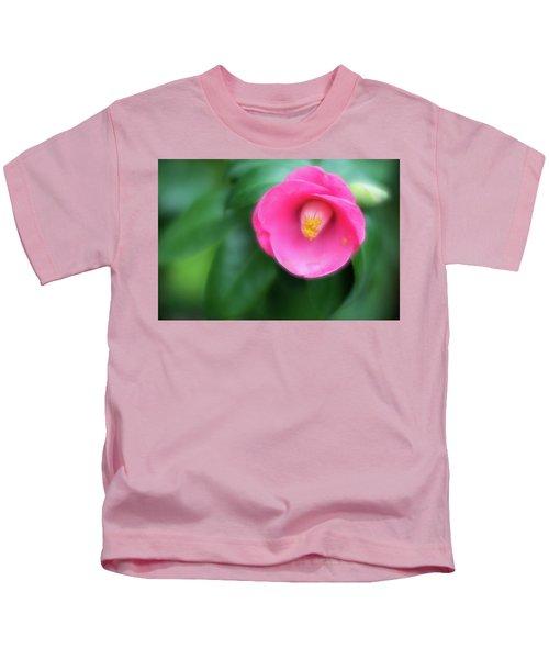 Soft Focus Flower 1 Kids T-Shirt