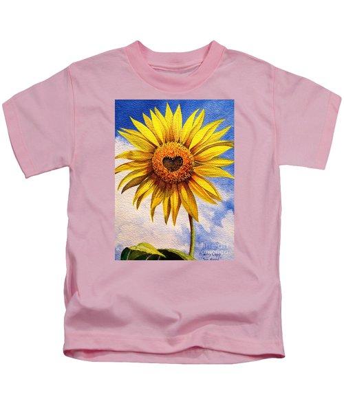 Son Kissed Kids T-Shirt