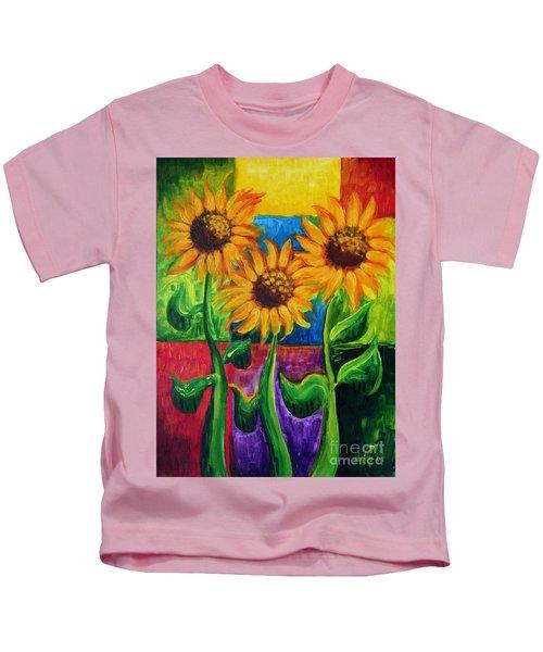 Sonflowers II Kids T-Shirt
