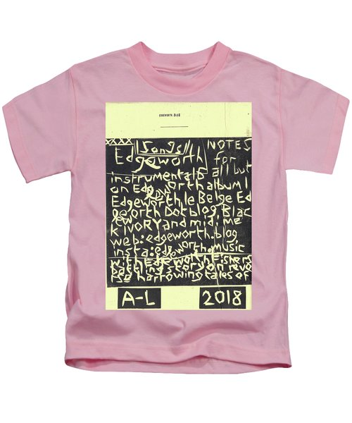 Song Notes Title Page A-l Kids T-Shirt