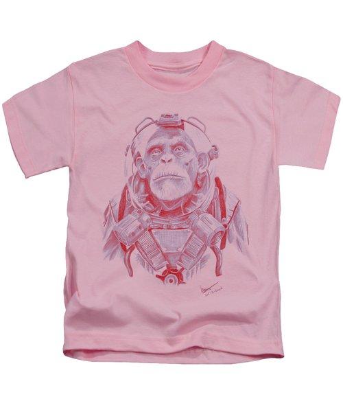 Space Chimp Kids T-Shirt