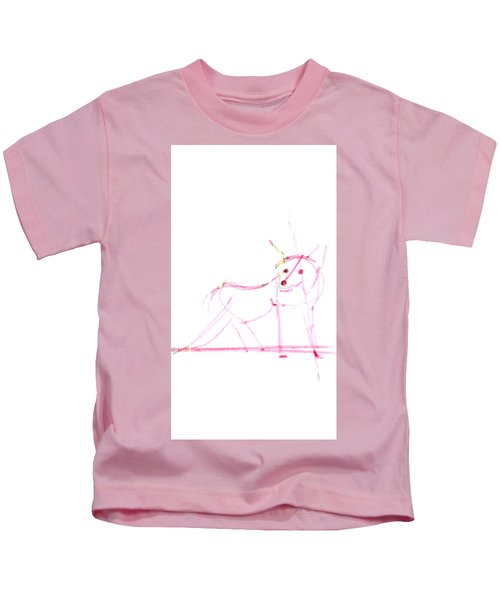 Spirit Animal . Ghost Fox Kids T-Shirt