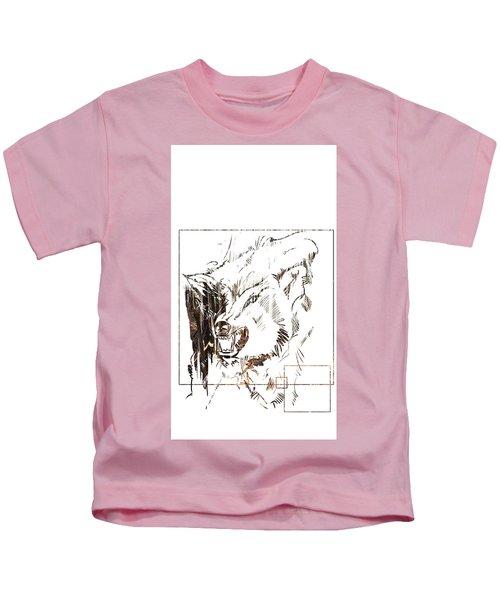 Spirit Animal . Wolf Kids T-Shirt
